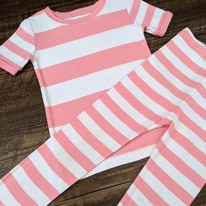 Old Navy Pink 2-Piece Pajama Set